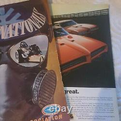 Rare 1969 Winternationals NHRA Drag Racing Program Pomona LA County Fairgrounds