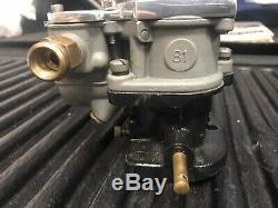 Rare Stromberg 81 Carburetor With Scott Type Top Hot Rod Rat Rod Flathead V8-60