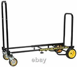 Rock-N-Roller R2G (Micro Ground Glider) 8-in-1 Folding Multi-Cart/Hand Truck/Dol