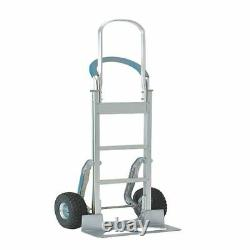 Stair climbing Hand Truck Tall Frame Low-Friction Skids Aluminium SBY08826