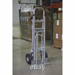 Strongway 3-in-1 Aluminum Hand/Platform Truck 550-/770-Lb. Capacity