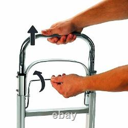 Truck Cart Folding Hand Luggage Trolley Dolly Push Aluminium 90 Kg Collapsible