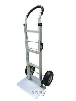 Tyke Supply Commercial Aluminum Hand Truck foldable full size dolly HS-36