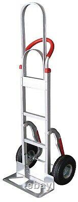Tyke Supply Commercial Aluminum HandTruck Tall handle StairClimber SolidTire HS3