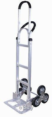 Tyke Supply Industrial Aluminum Stair Climber Hand Truck 6 wheel handcart HS-33