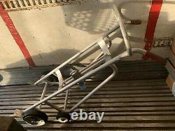 Valley Craft 2425, Aluminum, Drum Hand Truck, Cart, Two Wheel Dolly