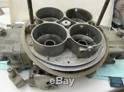 Vintage 4575 Holley Dominator Carburetor Hot Rod Gasser Flat Bottom Hydro Drag