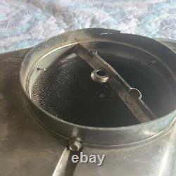 Vintage Cal Custom Ribbed Blower Style Scoop Hot Rod Rat Rod Kustom Custom Nhra
